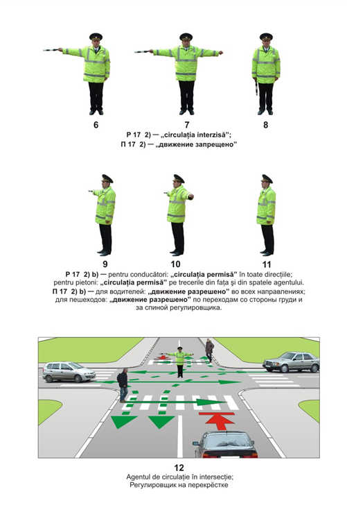Сигналы регулировщика, Молдова Кишинев